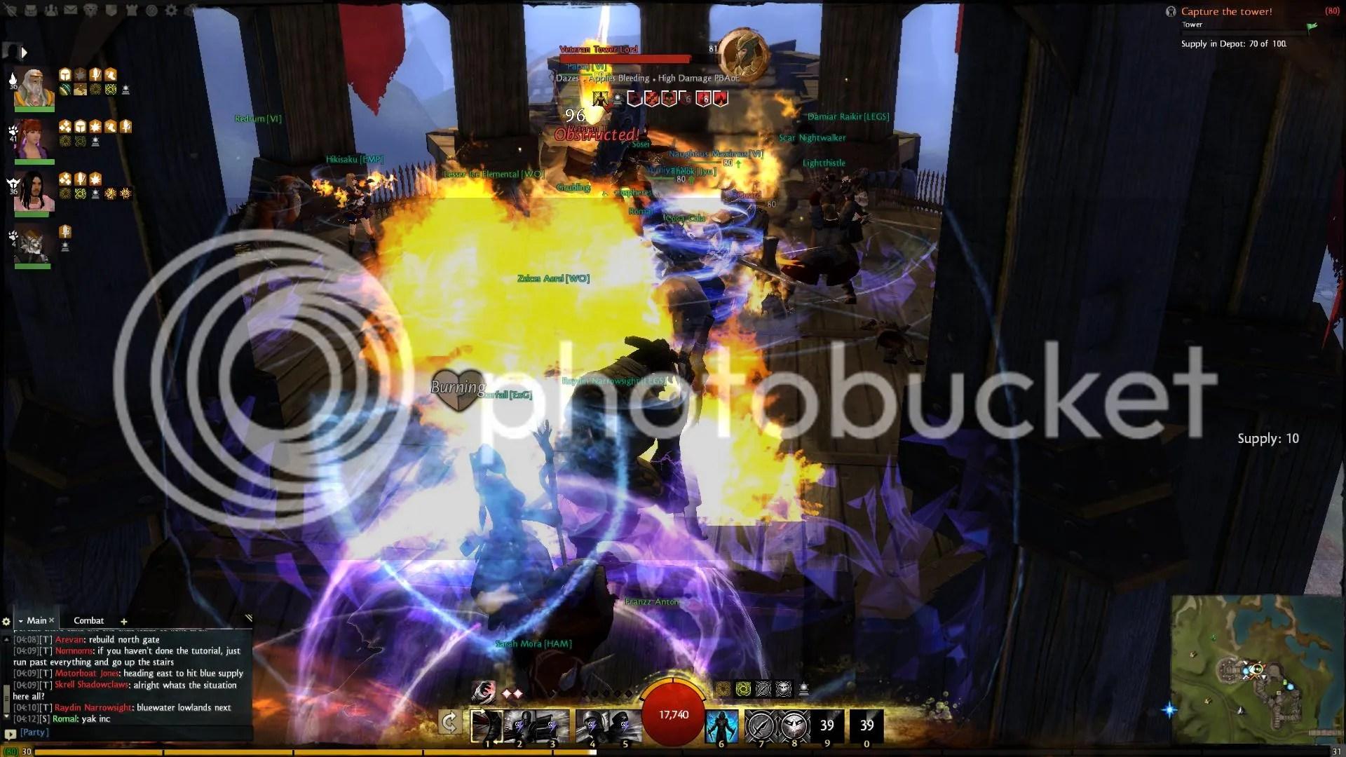 Guild Wars 2 Fort Capture