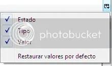 Configuracion por default