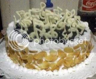 Birthday cake untuk Paduan Suara Mahasiswa Universitas Trisakti. The best cheesecake for the best choir!