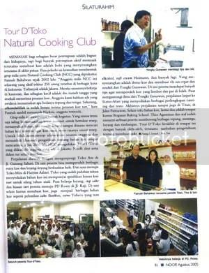 NCC di Majalah Noor