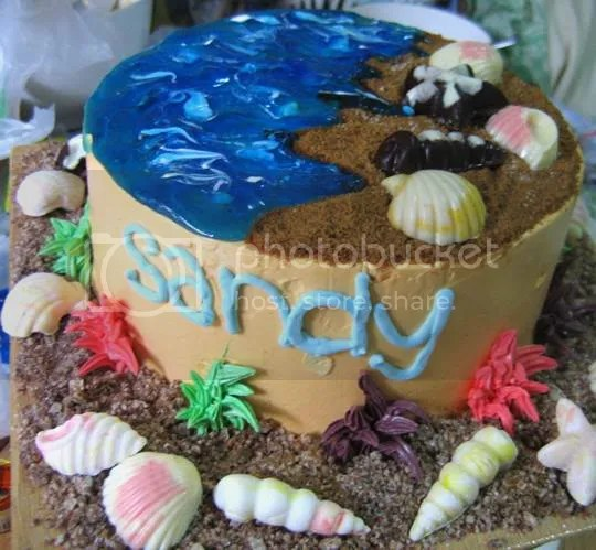 Sandy Cake