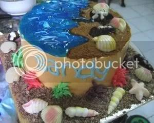 Sandy Cake for Sandy
