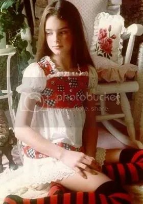 Young Brooke Shields Putting The LOL In Lolita Since 2002