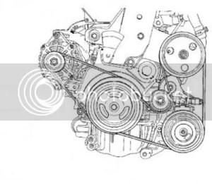 Did the mechanic damage the alternator belt?  PT Cruiser