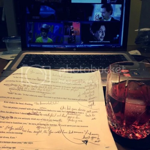 Editing, Gin, and Steve Buscemi