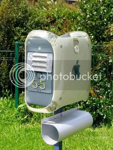 Caixa de correio Mac