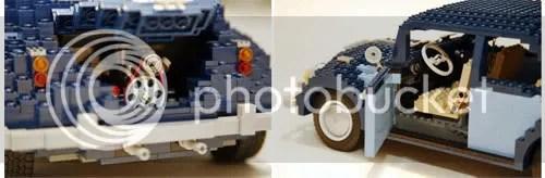 Fusca de LEGO