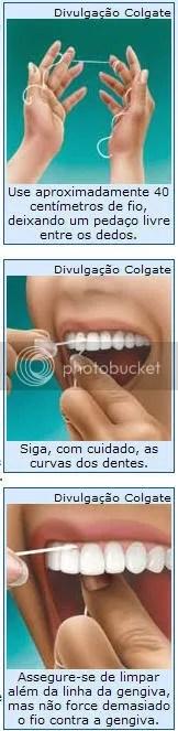 Aprenda a usar corretamente o fio dental