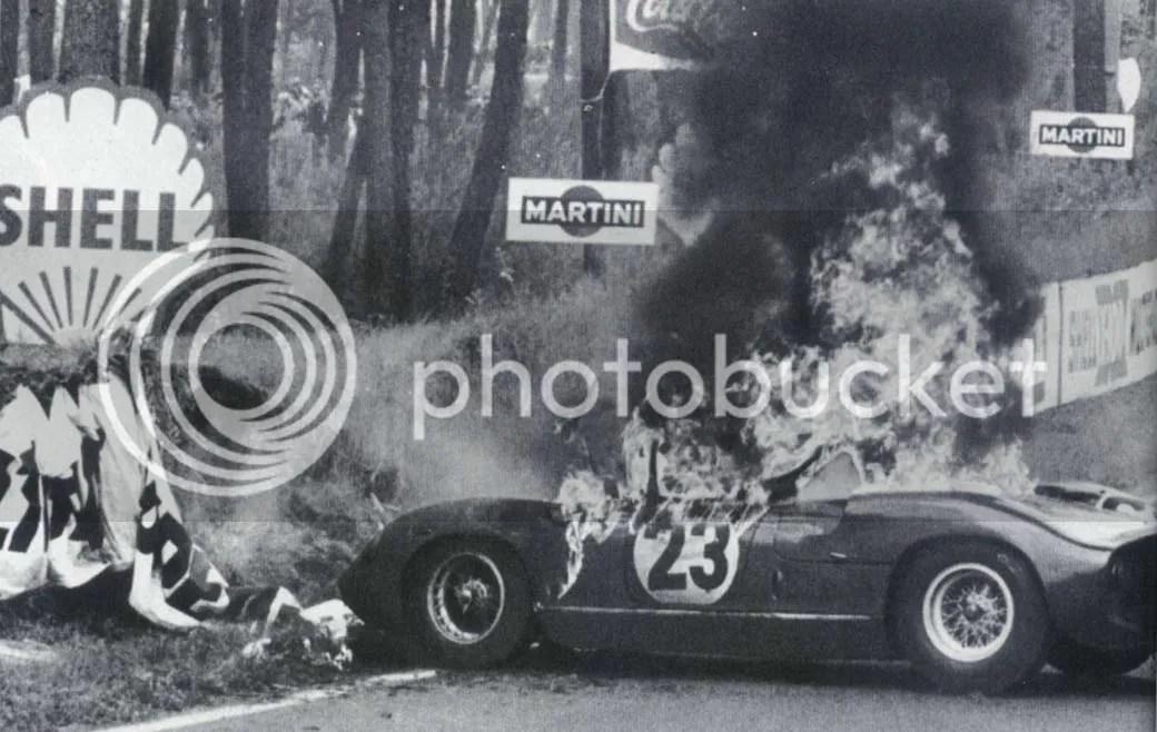 Willy Mairesse alla 24 Ore di Le Mans del 1963.