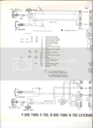 69 f600 wiring diagram  Ford Truck Enthusiasts Forums