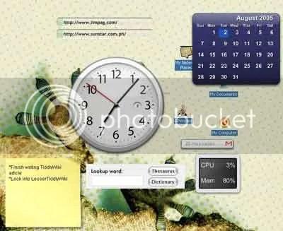 My Konfabulated Desktop