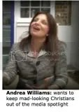 Andrea Williams, founder of the Christian Legal Centre and author of Nadine Dorries' recent abortion amendment
