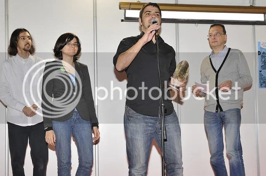 Morán y Laurielle recogen el premio