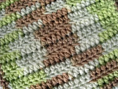 Okay, back to the crocheted guys! This colors called Landscape.