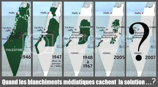 peta wilayah palestin-israel