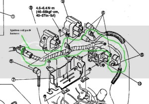1993 Front Harness Annotated Connector Pictures  Page 2  RX7Club  Mazda RX7 Forum