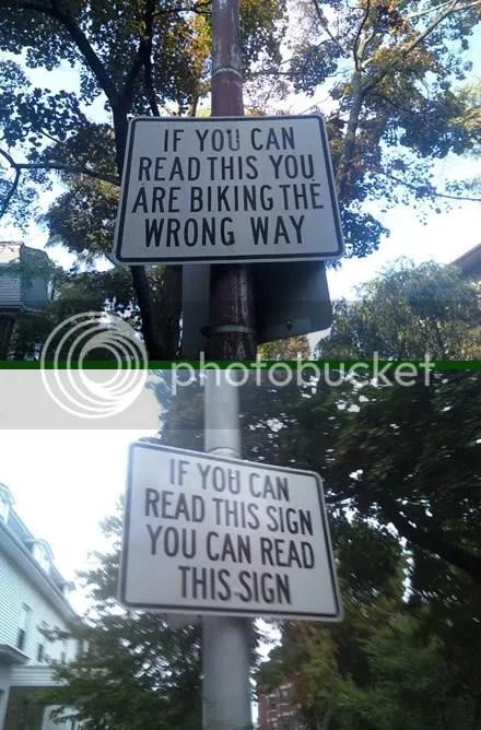 Right Way; Wrong Way