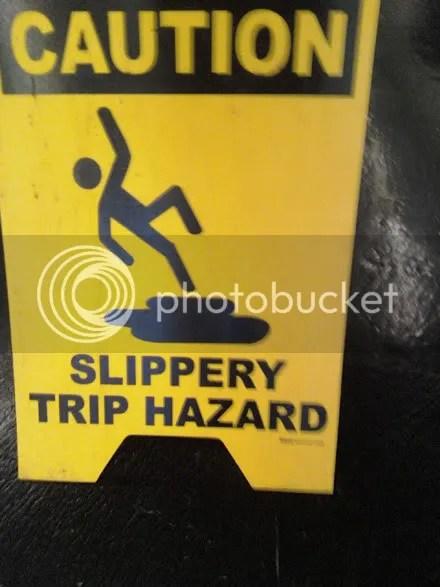 Slippery Trip!