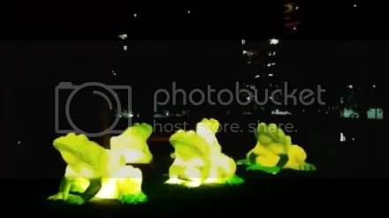 Glowing Frogs