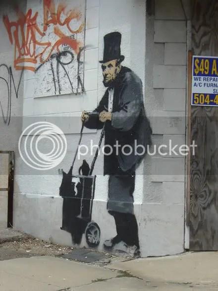Banksy Lincoln