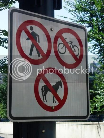 Transportation Not Allowed