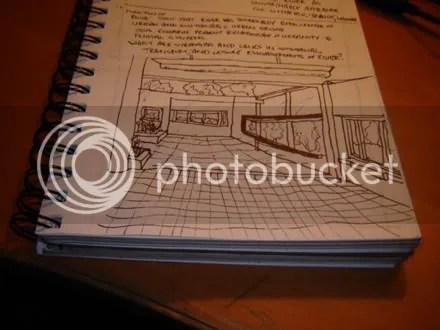 Crappy Villa Savoye Sketch
