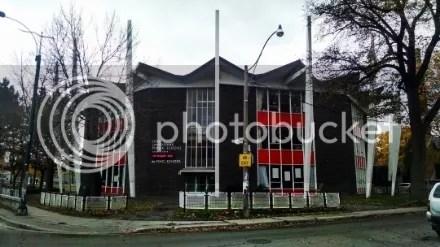Wacky Modernist Public School