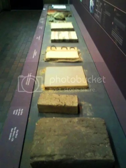 Rammed Earth Samples
