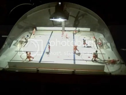 Bar Air Hockey