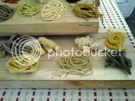 Pasta Samples