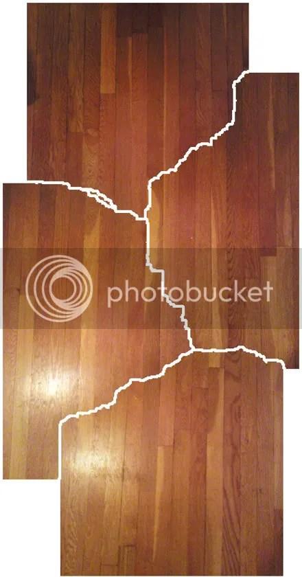 Shredded Wood Floor