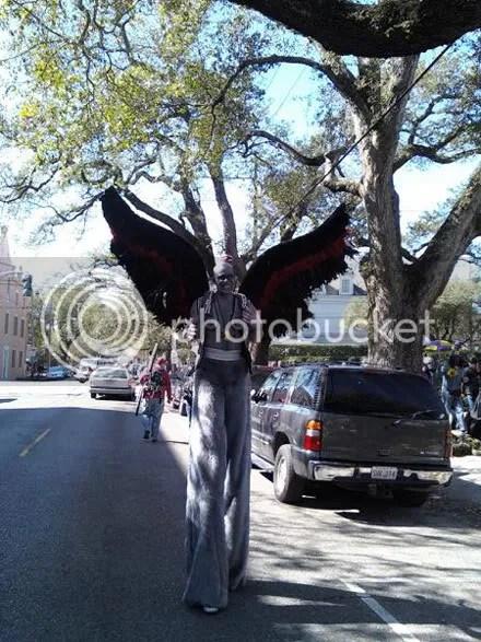 Winged Stiltman