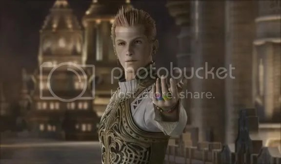 Balthier shows off his very manly jewelry