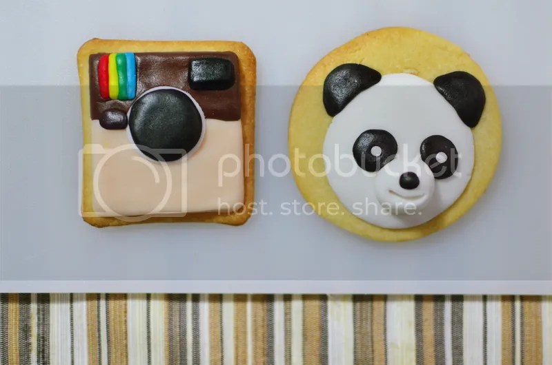 photo sugar fondant cookies decoration
