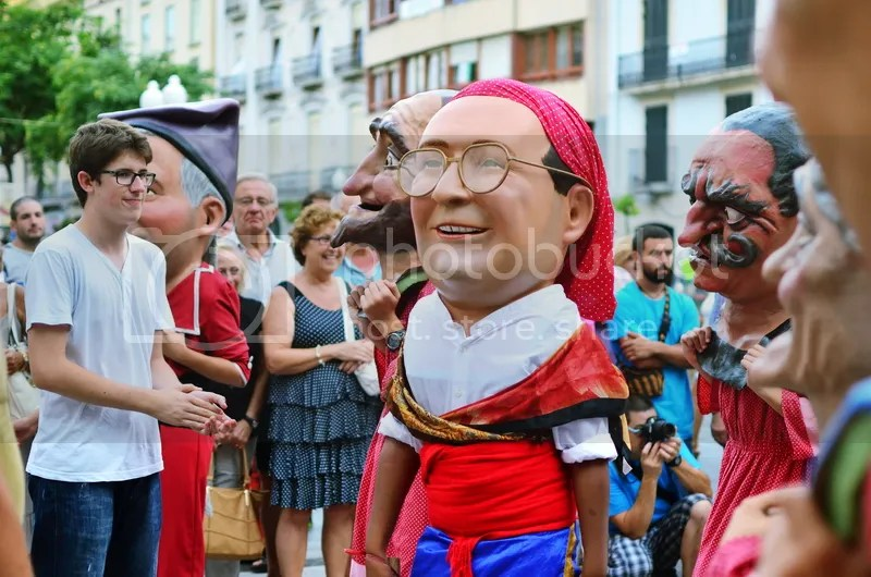 nanos i capgrossos santa tecla tarragona 2014