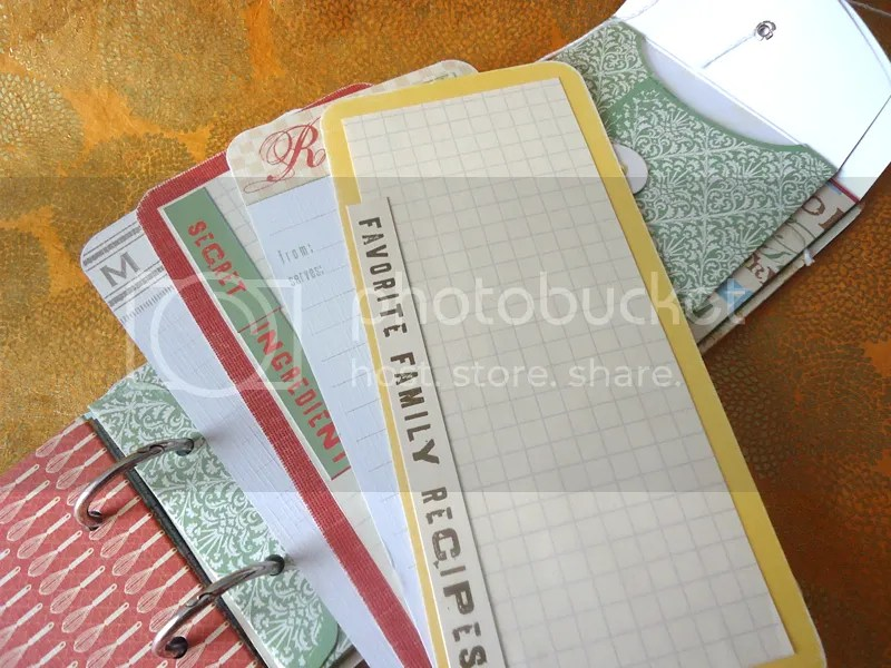 recipe journal blank pages