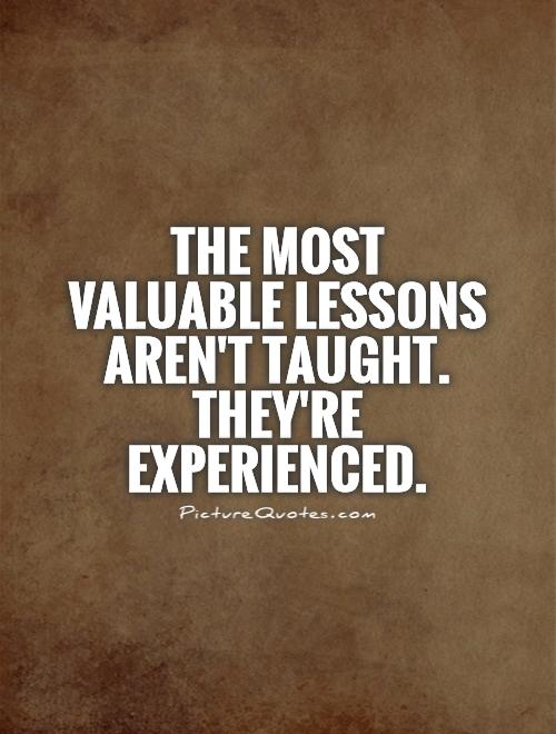 Image result for quote about lessons