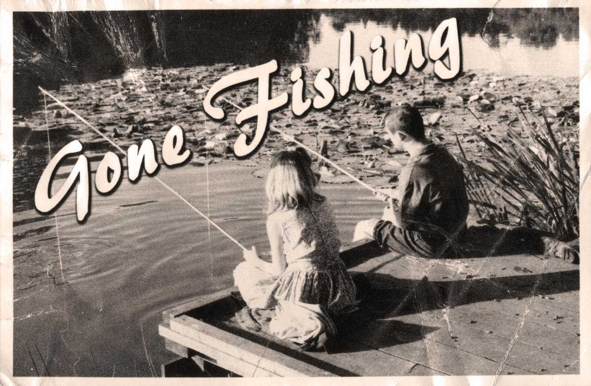 Image result for gone fishing picture
