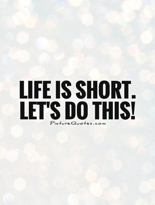 Image result for quote let's do it
