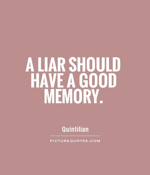 Sayings And Liar Quotes