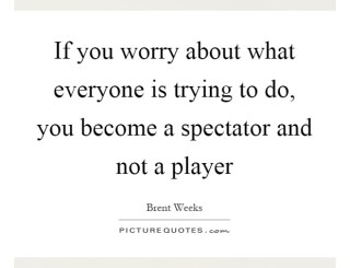 Are You A Player Or A Spectator