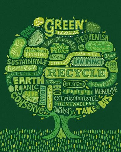 Go green Picture Quote #1