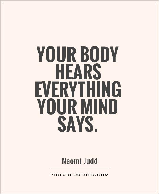 Image result for mind & body quotes