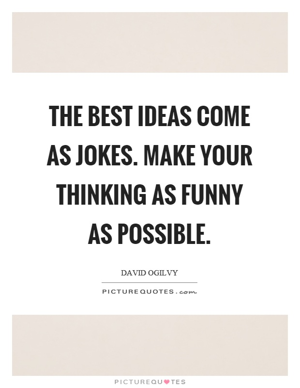 Thinking Me Funny Quotes