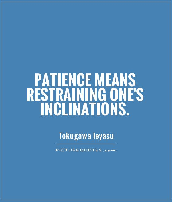 Patience Love Quotes Sayings