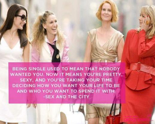 The Perks Of Being Single, You Can Choose To Be Single And Happy.