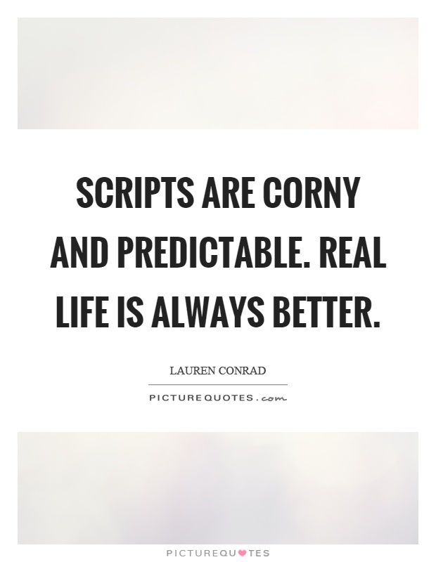 Corny Quotes About Life