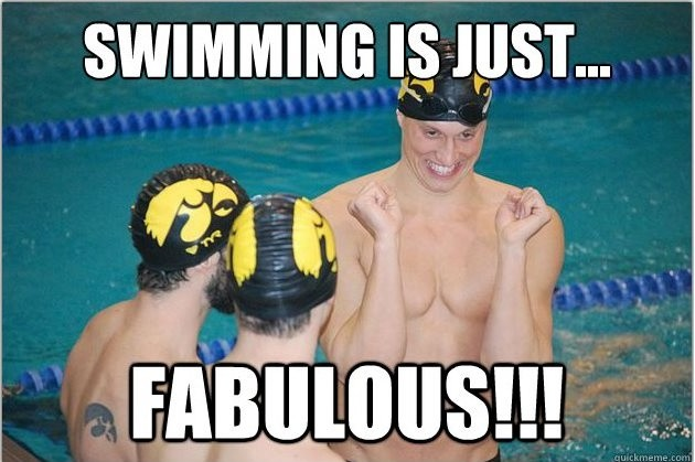 Funny Swimming Quote 1 Picture Quote #1