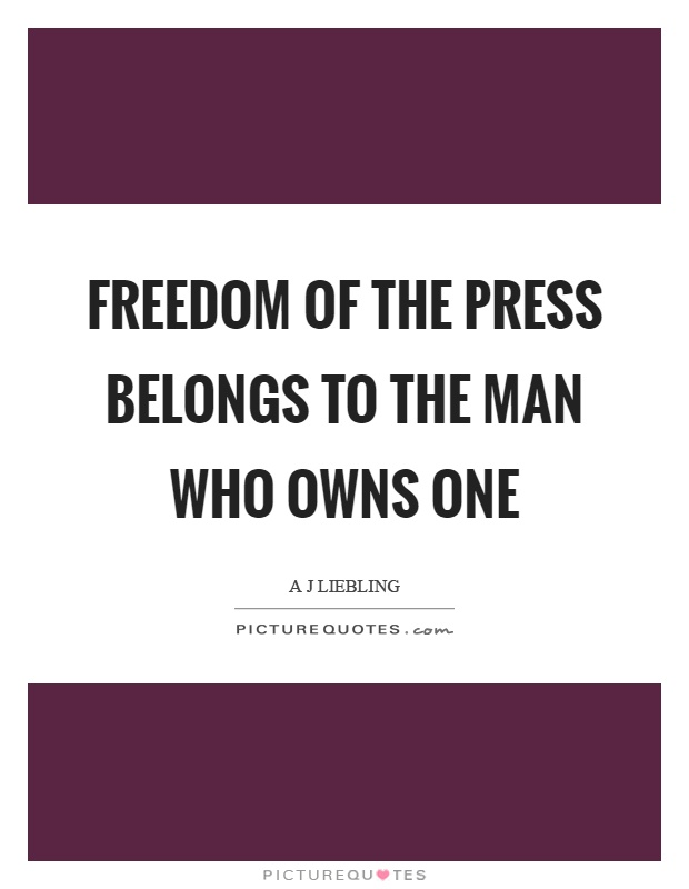 Freedom Press Quotes