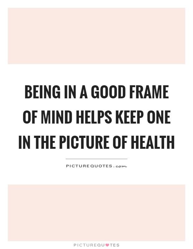 In Good Frame Of Mind | Framess.co